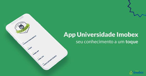 App Universidade Imobex – seu conhecimento a um toque