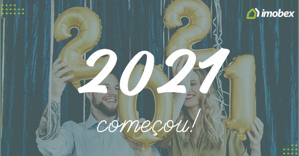 2021 já começou, bora tornar real as promessas?
